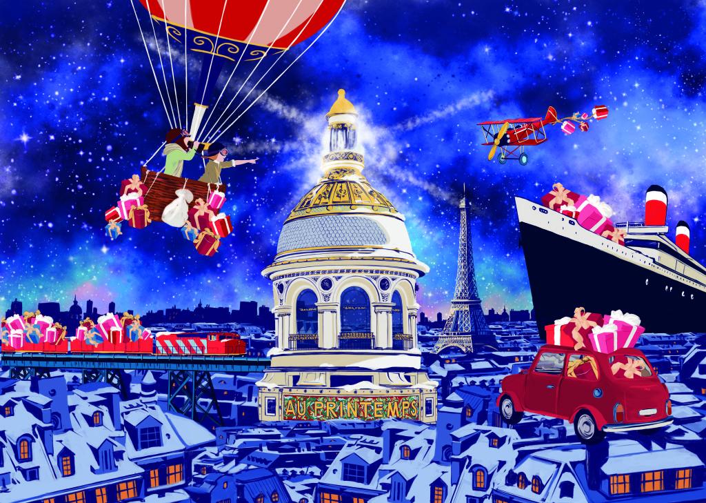 Printemps Haussmann - carnet des tendances de Noël - FENDI
