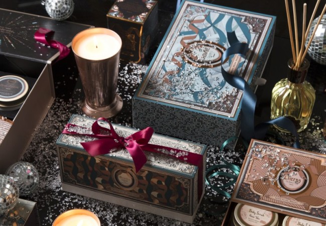 Sabon – collection de Noël 2017 – Celebration Wishes