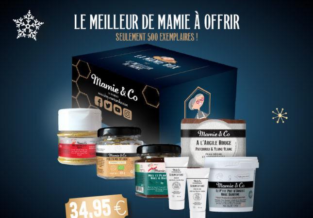 Mamie & Co – box de Noël – produits bio & naturels – beauté et santé