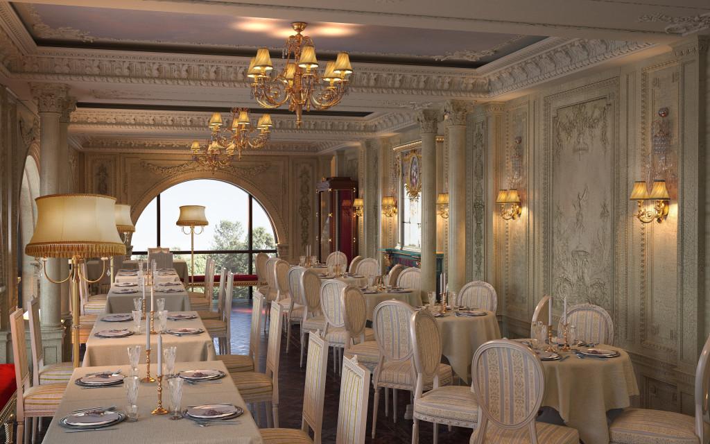 CCafé Pouchkine - salon de thé et restaurant russe - Place de la Madeleine