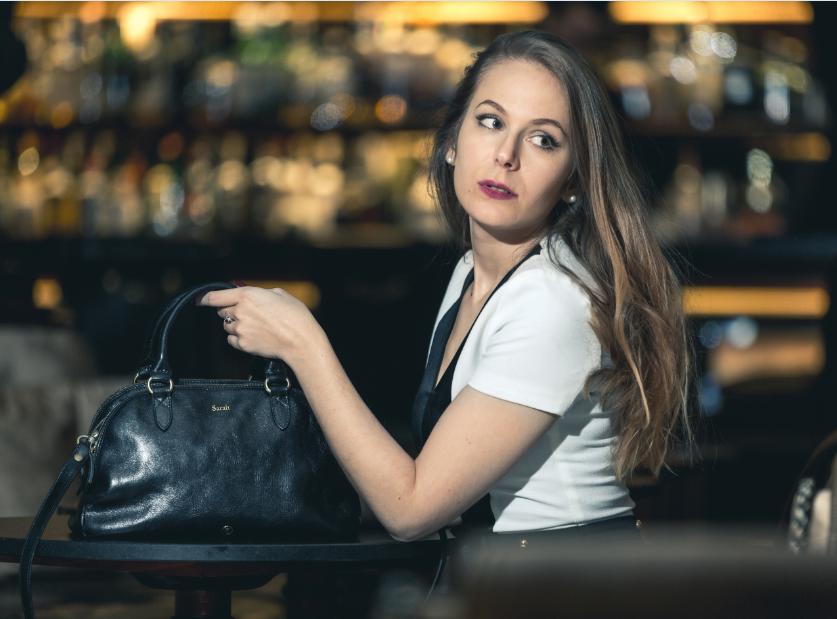 Maxwell Scott - maroquinerie de luxe - un it bag en cuir - Sarah Paris Frivole