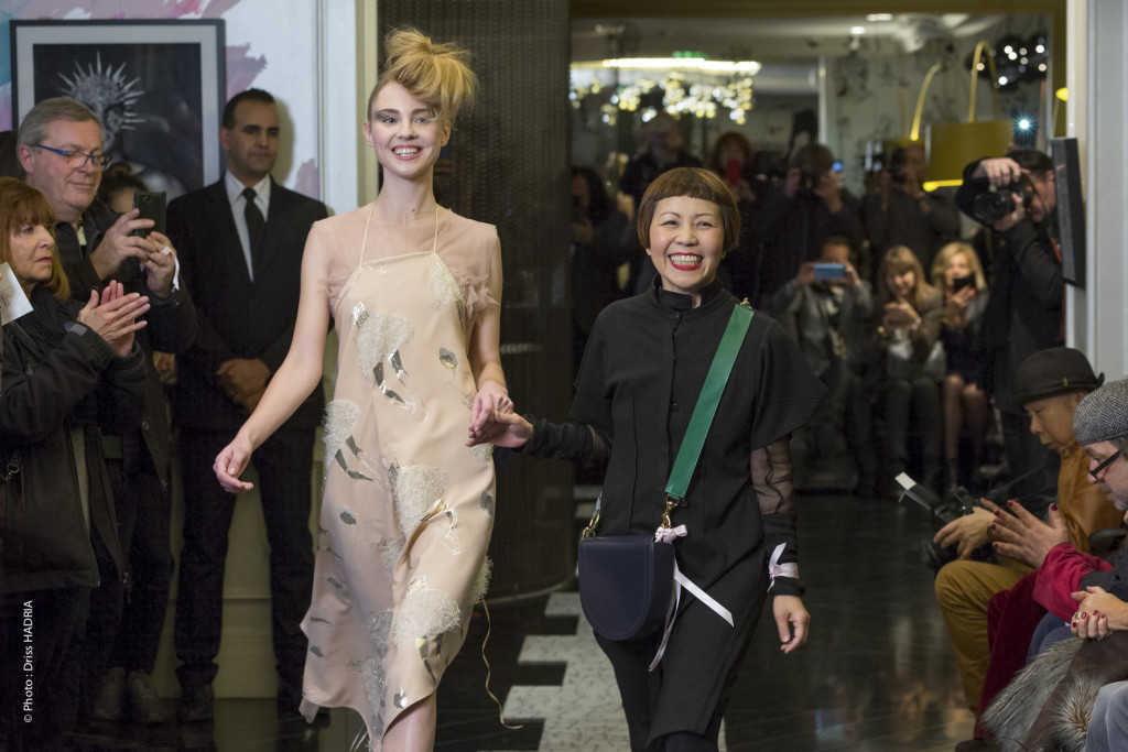 Ken Okada - défilé de mode - Hôtel W Opéra