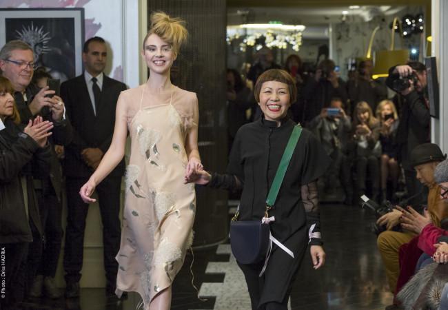 Ken Okada – défilé de mode – Hôtel W Opéra