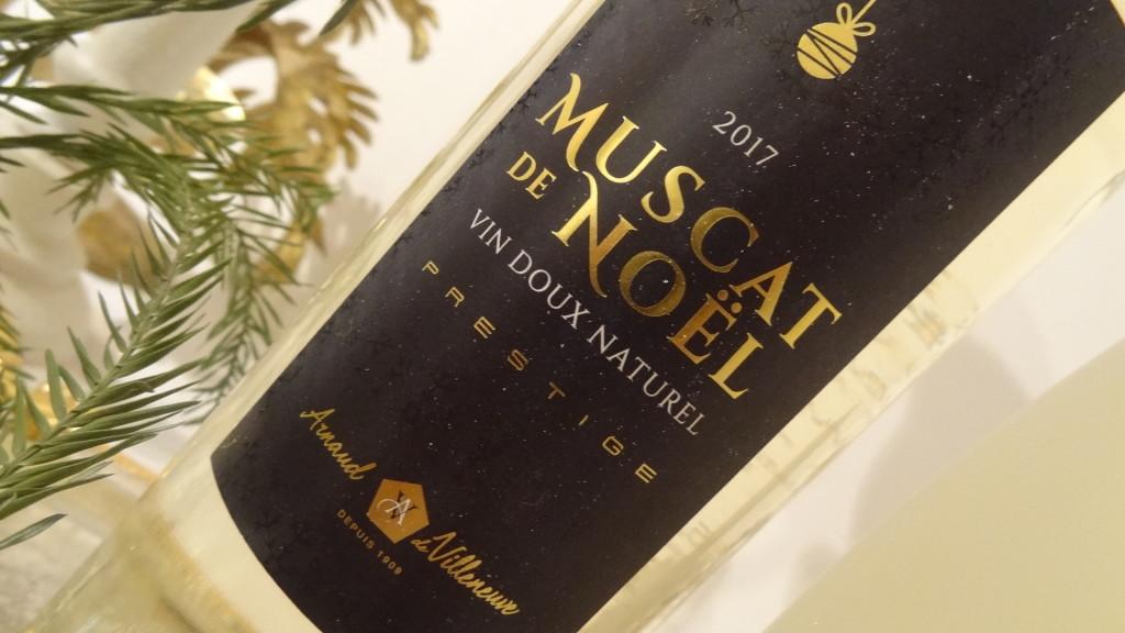 Muscats de Noël - AOP Muscat de Rivesaltes - Arnaud de Villeneuve