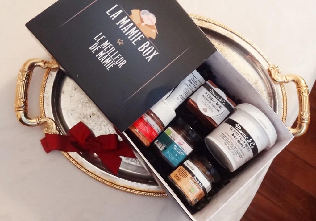 Mamie & Co - box de Noël - produits bio & naturels - beauté et santé