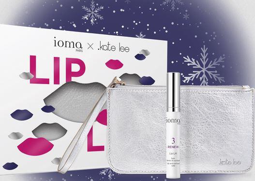 Ioma Paris – coffret lip lift – beauté des lèvres