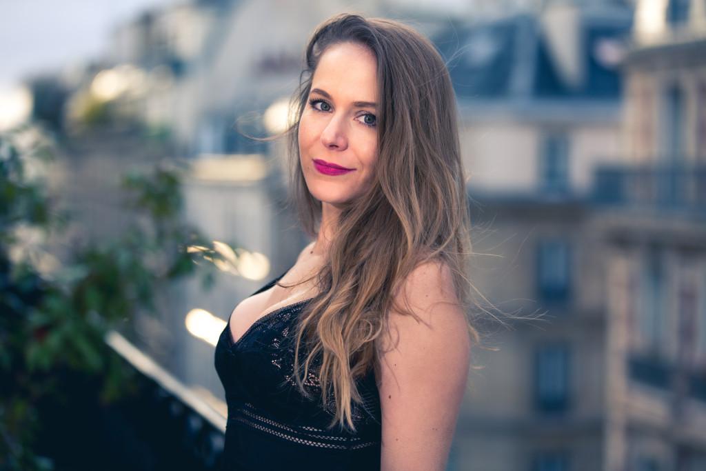 Glamuse - HUIT - une nuisette couture - dentelle de Calais