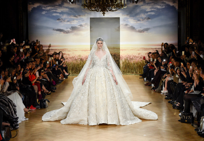 Ziad Nakad – Paris Fashion Week – collection couture printemps été 2018