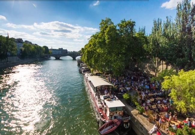 La Péniche Marcounet – concerts de jazz – apéros festifs sur la Seine