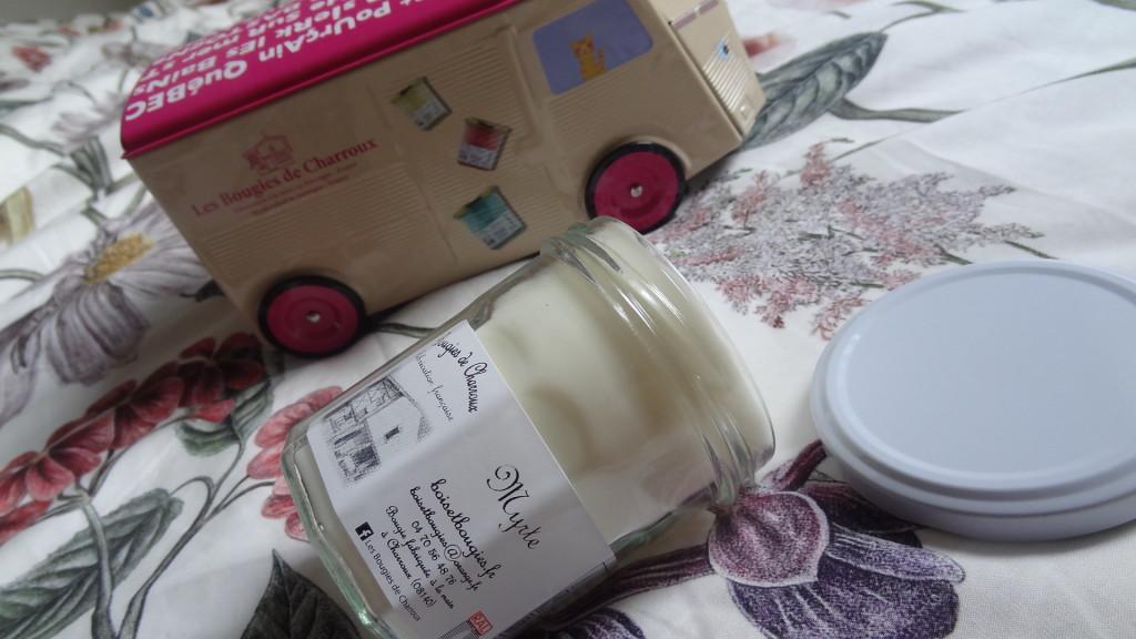 Les Bougies de Charroux - nouveau parfum - coffret Candle Trucks