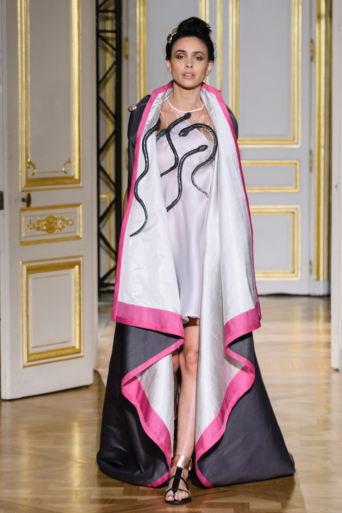 Laskaris – Paris Fashion Week – collection couture printemps été 2018
