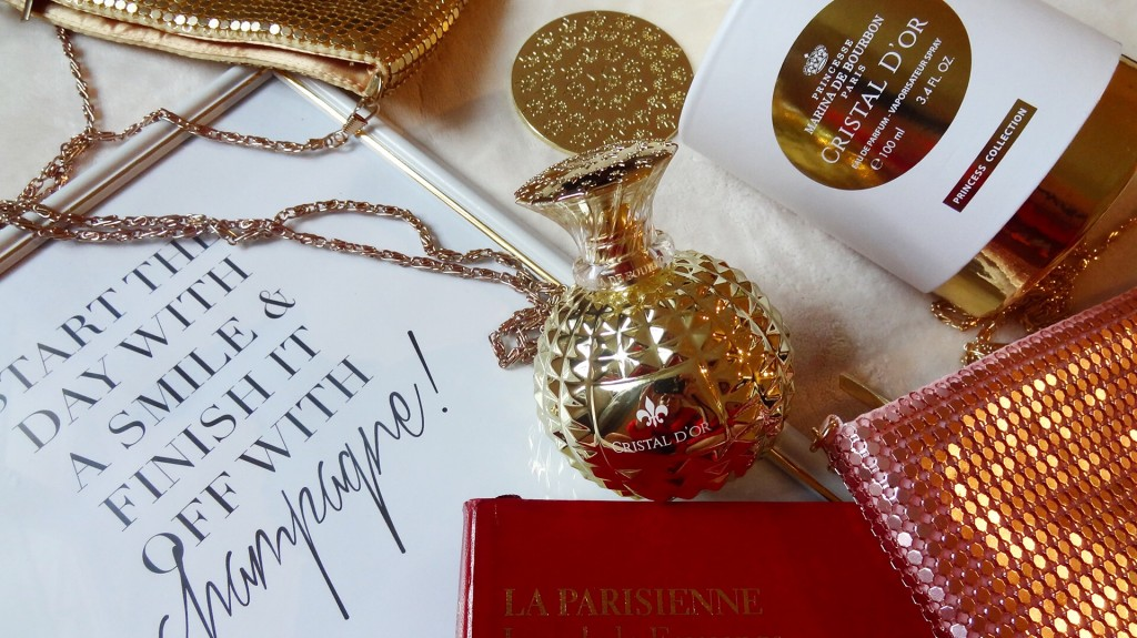 Cristal d'Or - parfum Princesse Marina de Bourbon
