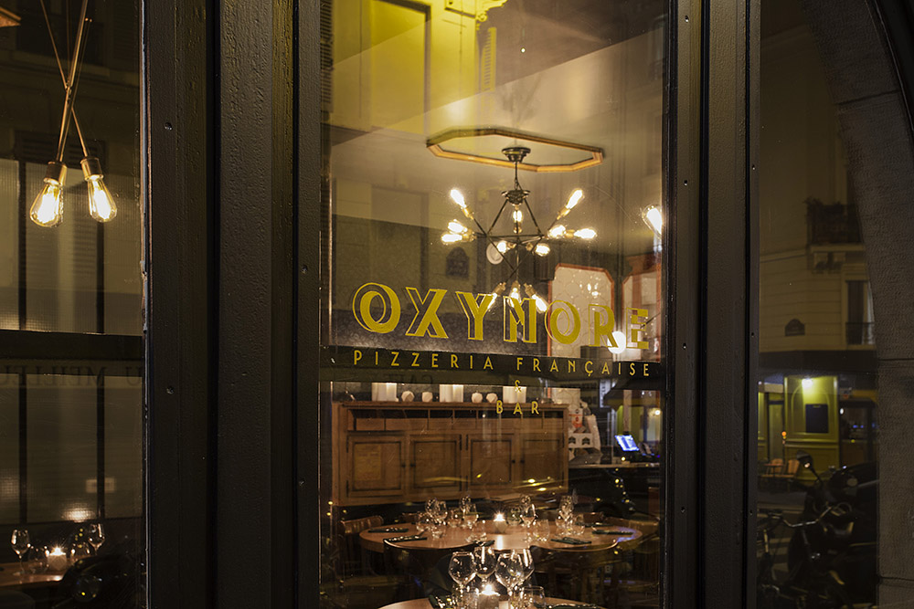 Oxymore - pizza à la française - restaurant à la mode - Paris 11