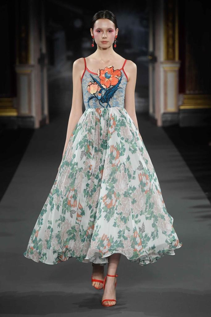Yumi Katsura - Paris Fashion Week - collection couture printemps été 2018