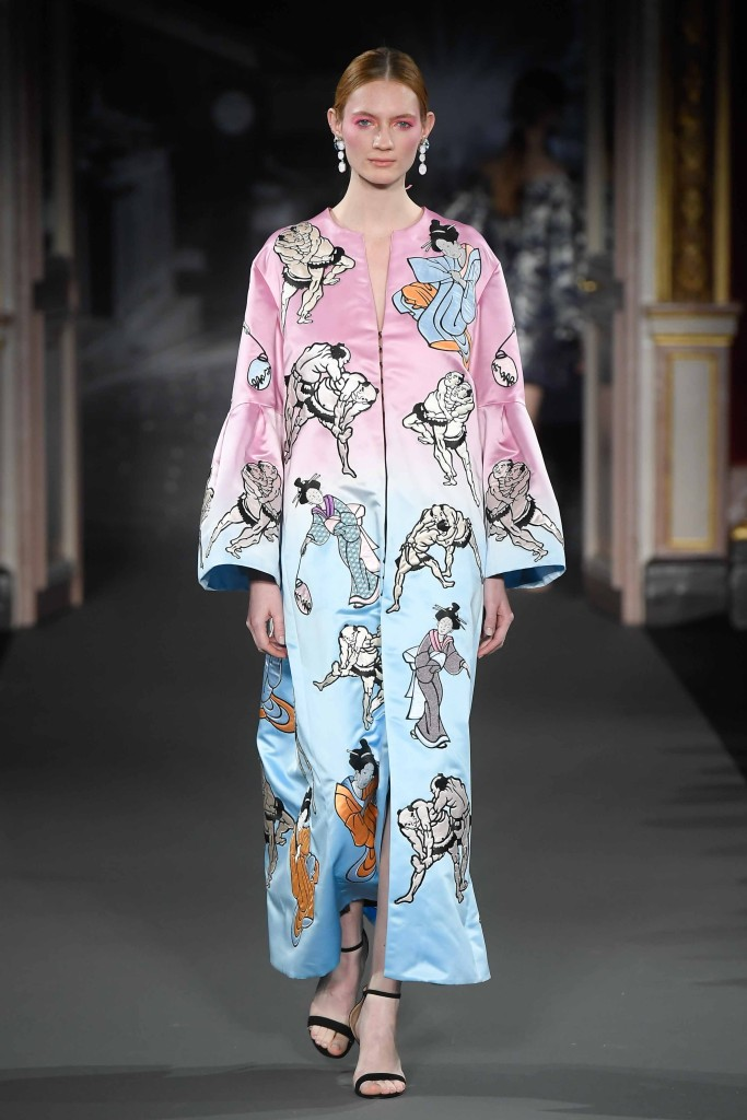 Yumi Katsura - Paris Fashion Week - collection couture printemps été 2018