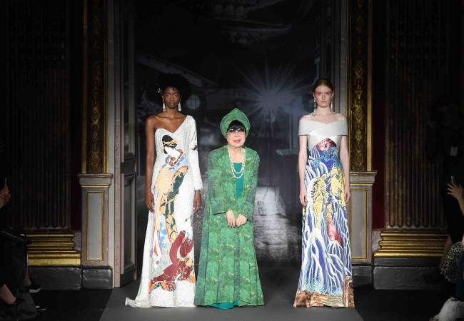 Yumi Katsura – Paris Fashion Week – collection couture printemps été 2018