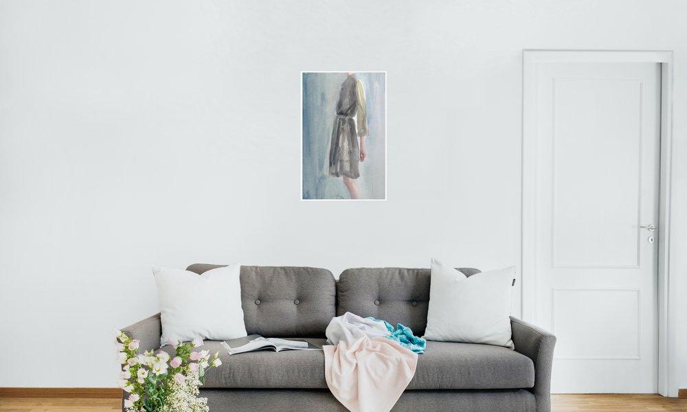 """Juniqe – l'artiste Victoria Verbaan - """"Queen Quixotic""""  – art mural"""