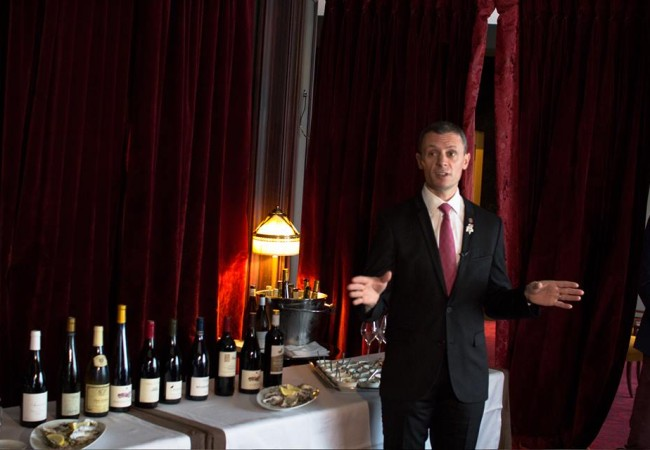 Les Tables Barrière – le Fouquet's – sélection des vins au verre
