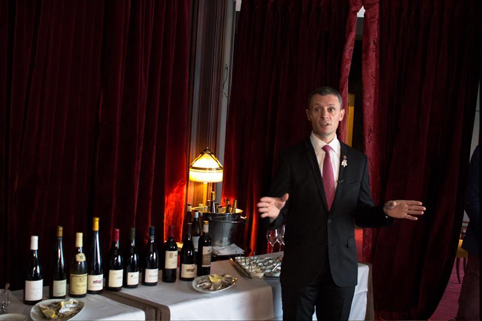 Les Tables Barrière - le Fouquet's - sélection des vins au verre