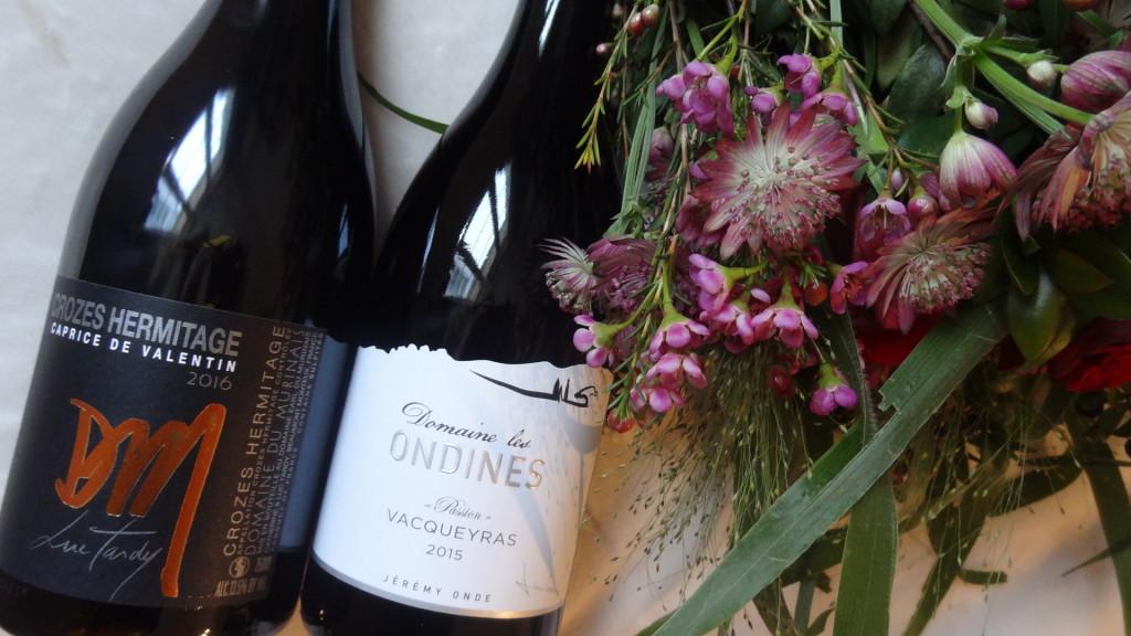 Des vins rouges de la Vallée du Rhônes pour la Saint Valentin