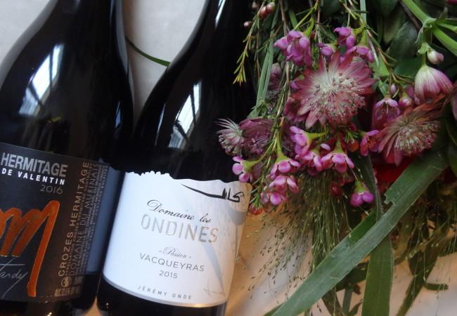 Des vins rouges de la Vallée du Rhône pour la Saint Valentin