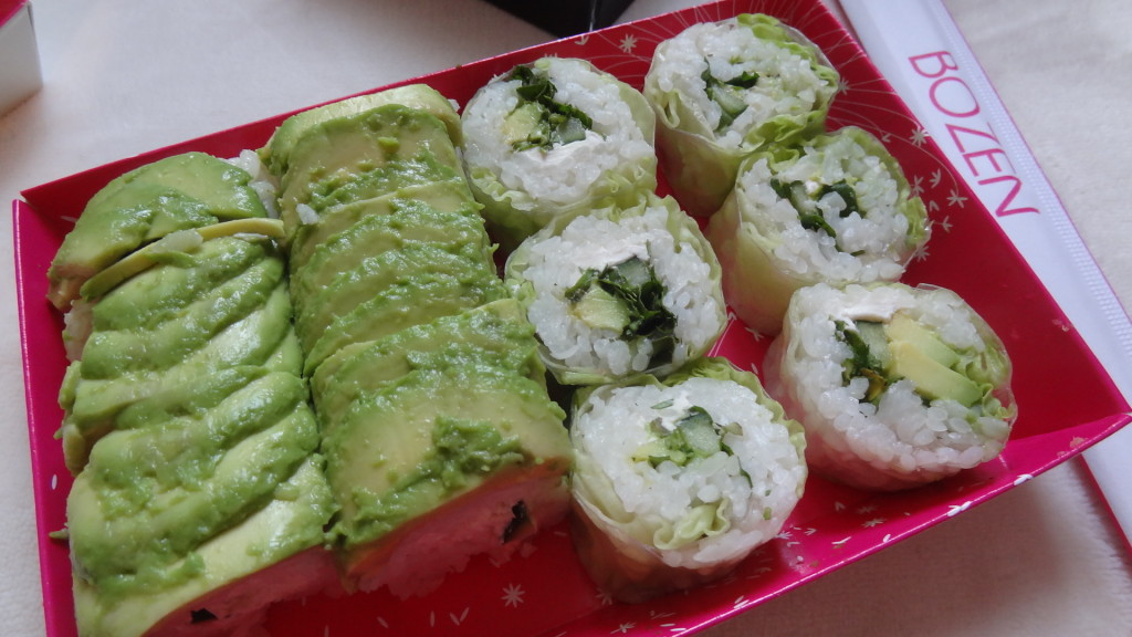 Bozen Sushi - restaurant japonais - sushis, salades et bagelsDSC05667