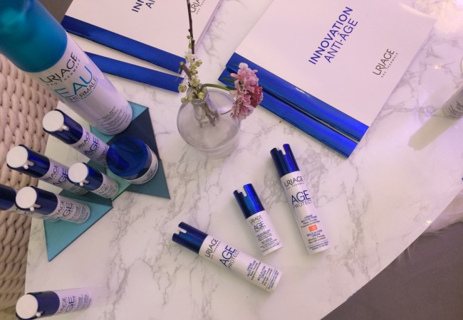 Uriage – Innovation anti-âge – Age Protect – soins anti lumière bleue