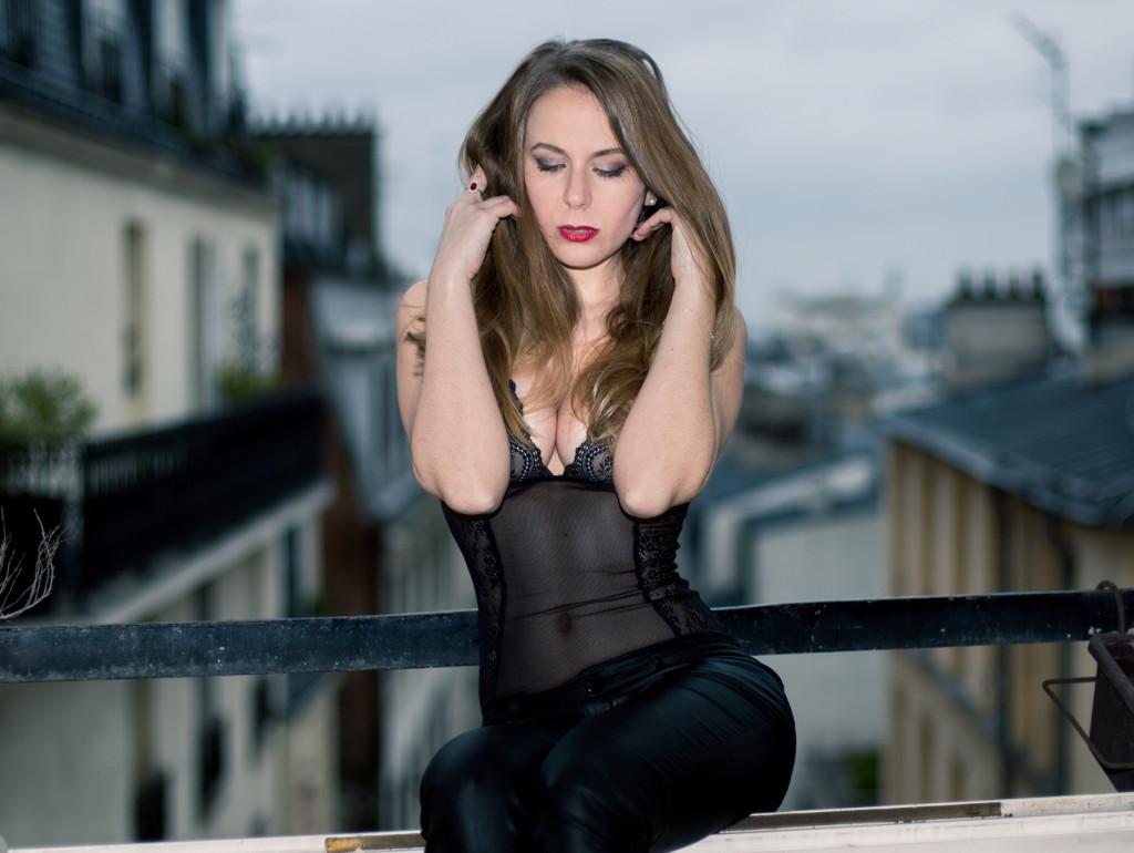 L'ingénieuse Paris - bodys en dentelle de Calais - lingerie fine