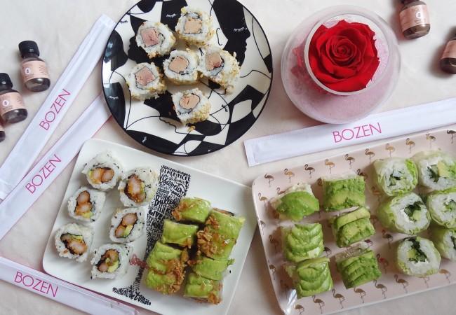 Bozen Sushi – restaurant japonais – sushis, salades et bagels