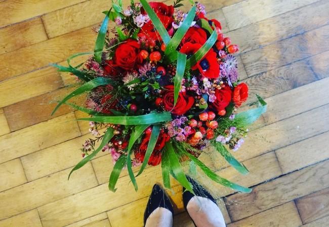 Interflora – un bouquet de fleurs pour la Saint Valentin – livraison