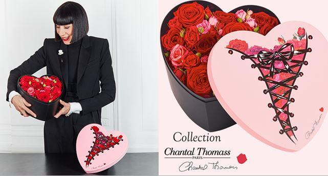 Interflora - Saint Valentin - Chantal Thomass