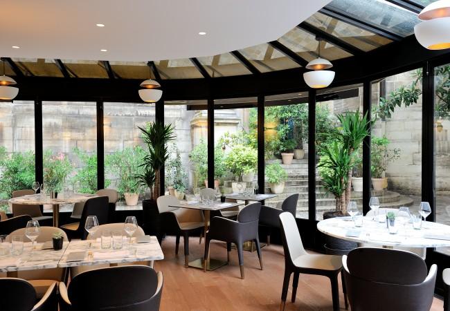 Le Lumen – un jardin d'hiver au coeur de Paris – gastronomie de haute voltige