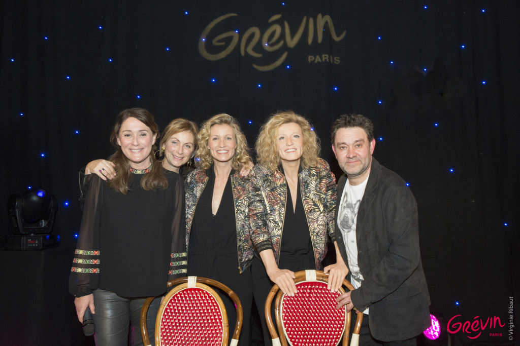 Alexandra Lamy est entrée à Grévin 3