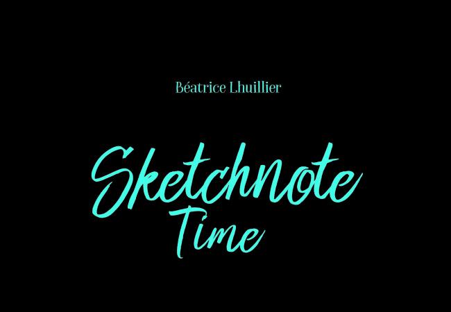Sketchnote Time – Editions du Chêne