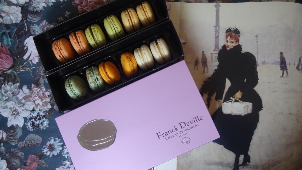 Franck Deville - artisan macaronier - macarons