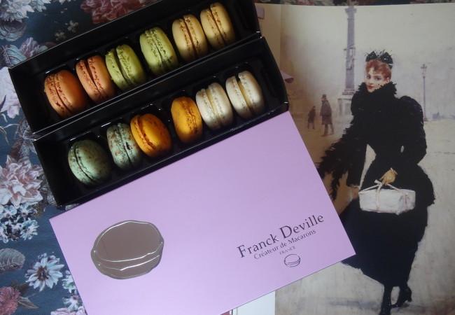 Franck Deville – artisan macaronier – macarons