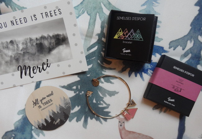Treez – bijoux made in France – reforestation – fashion et éthique