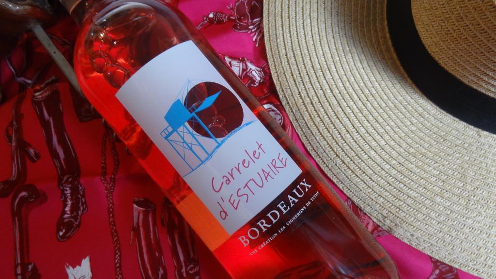 Carrelet d'Estuaire - le nouveau Bordeaux rosé de l'été - Tutiac