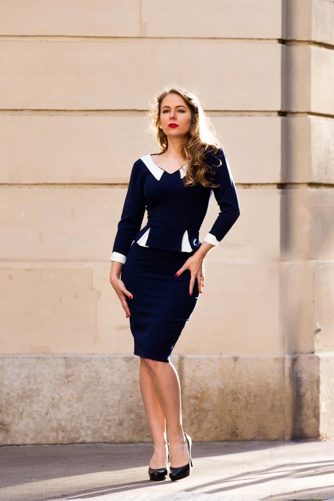Top Vintage - robe rétro - un look de pin up années 50