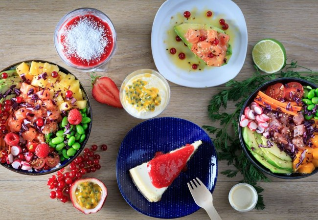 Pokawa – cantine hawaïenne – fresh food – poké bowls