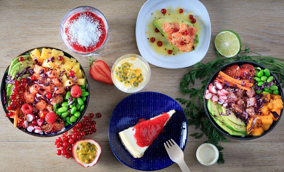 Pokawa - cantine hawaïenne - fresh food - poké Bowl