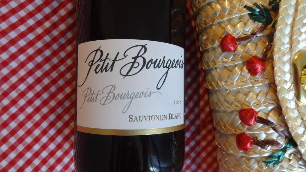 Petit Bourgeois - Sauvignon blanc 2017 - un vin blanc élégant