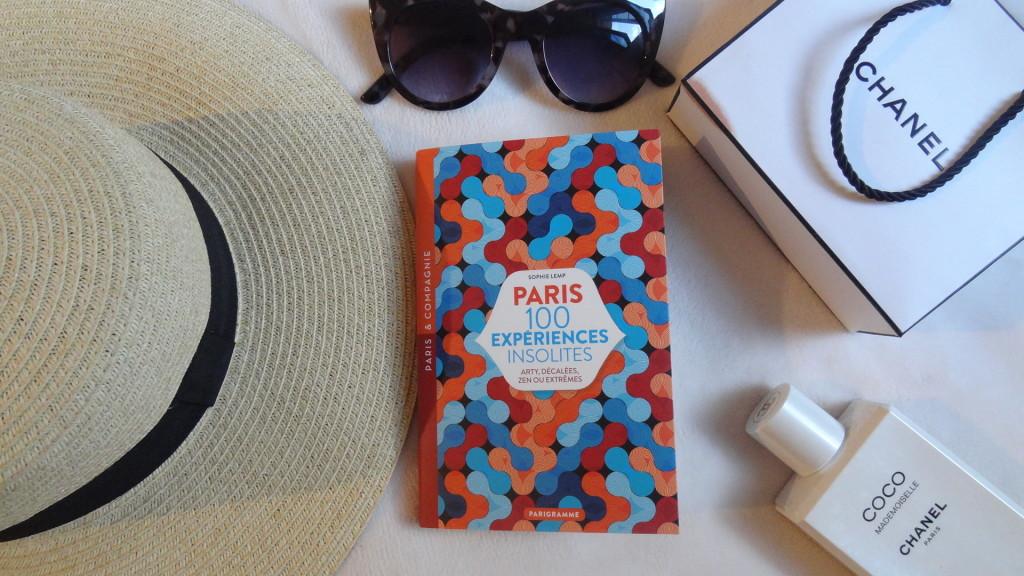 Paris 100 expériences insolites - éditions Parigramme