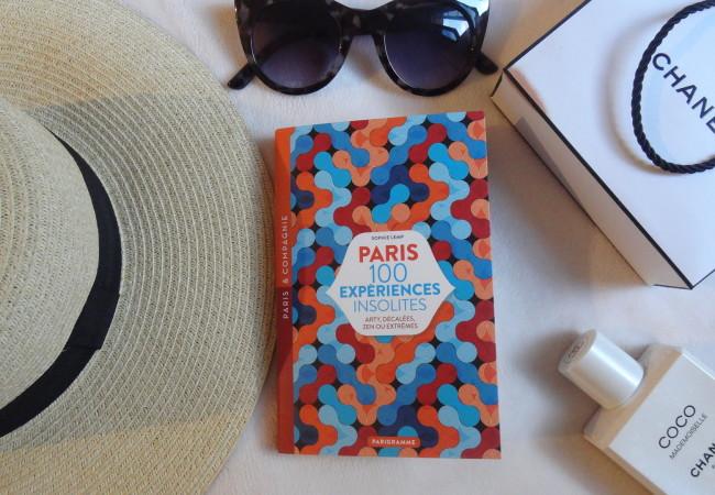 Paris 100 expériences insolites – éditions Parigramme