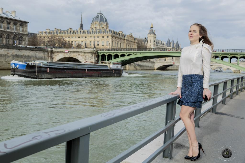 Svetlana K - prêt à porter - un look chic de Parisienne - influence russe