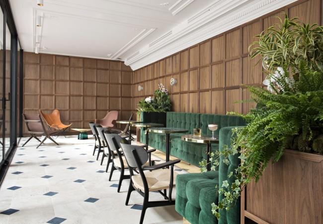 Hôtel Parister – bar à cocktails – Les Passerelles