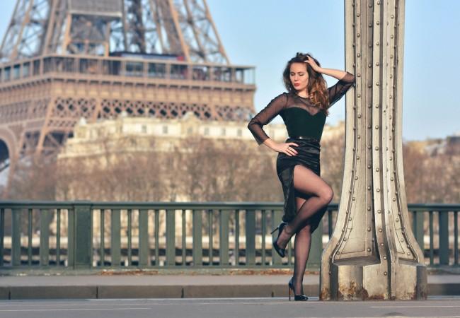 Un look de Parisienne – robe du soir – look rétro – Scarlet Ohara Wind