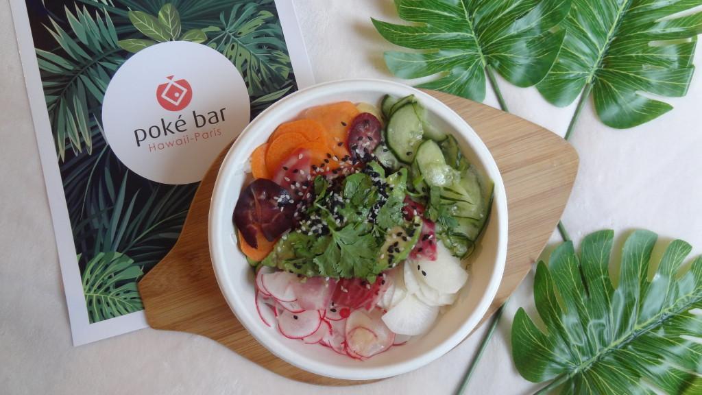 Poké Bar - spécialités hawaïennes - poké bowls