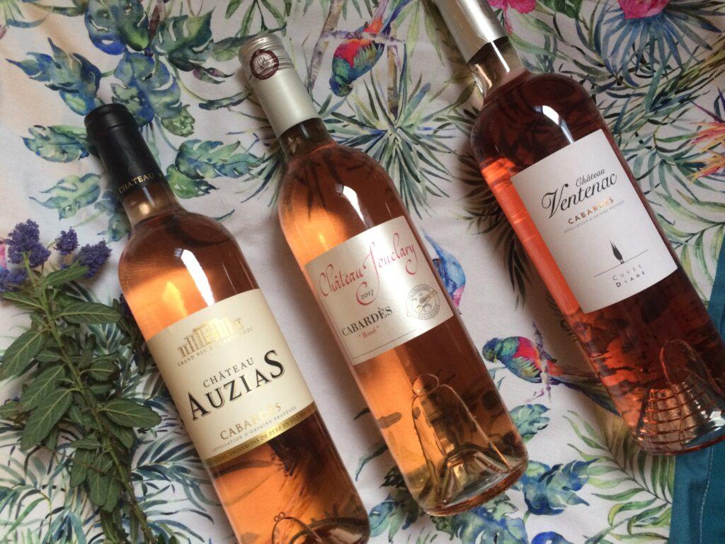 Vins rosés AOC Cabardès - des rosés festifs pour les beaux jours