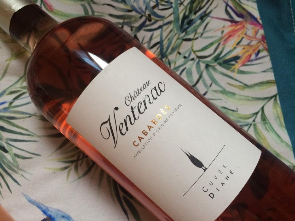 Vins rosés AOC Cabardès - des rosés festifs pour les beaux jours - château Ventenac